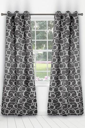 Duck River Textile Rhys Blackout Grommet Panel Curtains - Set of 2 - Grey