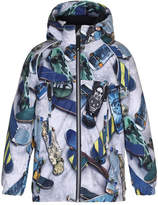 Molo Castor Skateboard Hooded Jacket, Size 4-10