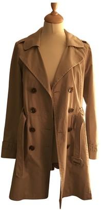 Joseph Beige Cotton Trench Coat for Women
