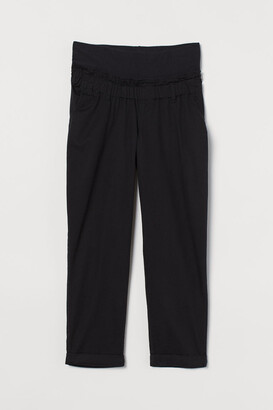 H&M MAMA Cotton trousers