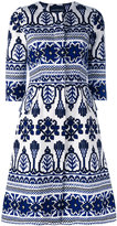Samantha Sung printed flared dress