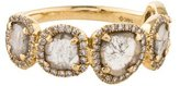 Anne Sisteron 14K Diamond Slice Princess Ring