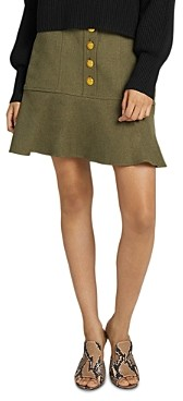 A.L.C. Marnell Fit and Flare Mini Skirt