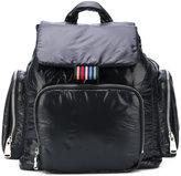 Sonia Rykiel drawstring pocket backpack