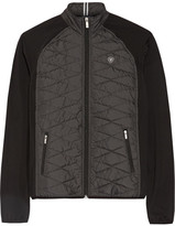 Ariat Cloud 9 Quilted Shell And Stretch-jersey Jacket - Dark gray