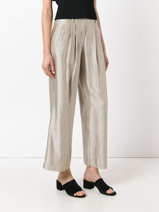 Forte Forte striped palazzo pants