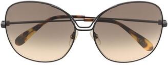 Givenchy Eyewear Oversized Cat-Eye Sunglasses