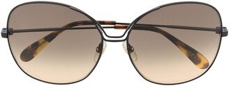 Givenchy Oversized Cat-Eye Sunglasses