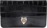 Alexander McQueen Heart Enveloppe clutch