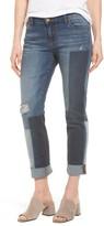 KUT from the Kloth Women's Catherine Colorblock Slim Boyfriend Jeans