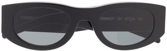 Thierry Lasry Mastermindy oval-frame sunglasses