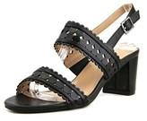 Karen Scott Dabby Round Toe Leather Slingback Heel.