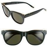 Tory Burch Women's 53Mm Gold Trimmed Sunglasses - Green