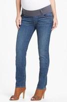 Maternal America Women's Maternity Skinny Jeans