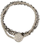 Kenneth Cole New York 3-Pc. Set Crystal and Stone Stretch Bracelets