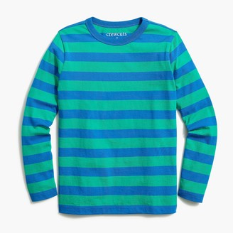J.Crew Boys' long-sleeve striped tee
