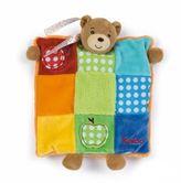 Kaloo DouDou Puppet Bear Patchwork Blanket