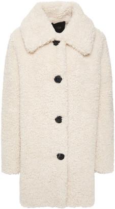 Maje Gatino Faux Shearling Coat