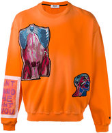 MSGM embellished sweatshirt - men - Cotton - S