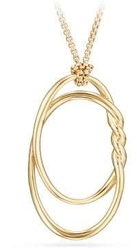 David Yurman Continuance® Pendant Necklace In 18K Gold