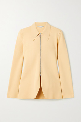 Stella McCartney Stretch-knit Jacket - Pastel yellow