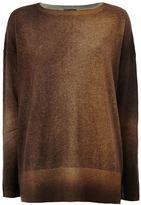 Avant Toi two-tone sweater