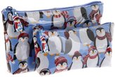Nick & Nora Women's 2 Pc Envelope Set Penguins N11037Es Clutch