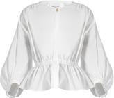Sonia Rykiel Puff-sleeved cotton-blend blouse