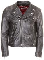 Golden Goose Deluxe Brand Leather Biker Jacket