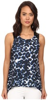 Brigitte Bailey Leopard Print Woven Blouse