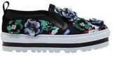 MSGM Women's Floral Platform Slip-on Sneaker.