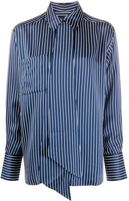 Rokh Roca striped-print shirt
