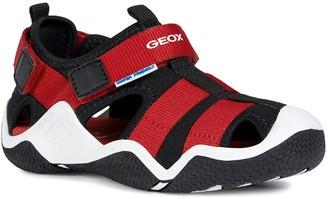 Geox Boys Wader Sandal -Black/Red