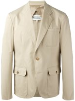 Maison Margiela button front blazer - men - Cotton/Viscose - 48