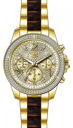 Invicta Women's Angel 20509 Gold Stainless-Steel Swiss Quartz Watch