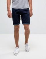Bellfield Overdye Denim Shorts