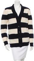 A.P.C. Wool Striped Cardigan