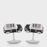 Paul Smith Men's 3D Signature Stripe Roof Mini-Car Cufflinks