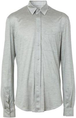 Burberry Slim-Fit Long-Sleeved Shirt