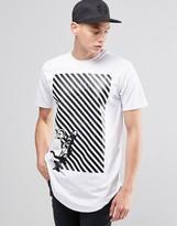 Criminal Damage Minions Long Line T-Shirt
