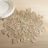 Pier 1 Imports Natural Leaves Placemat