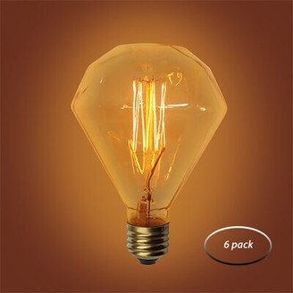 Urbanest 60W Amber E26 Incandescent Vintage Filament Light Bulb