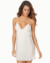 Soma Intimates Tessa Chiffon and Lace Sleep Chemise