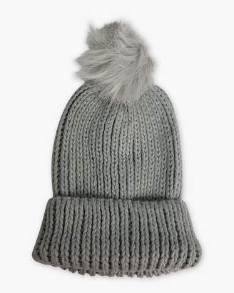 Hat Attack Tahoe Faux Fur Pom Hat