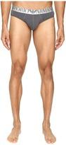 Emporio Armani Shiny Logo Band Brief Men's Underwear