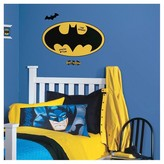 Batman RoomMates Logo Dry Erase Peel and Stick Giant Wall Decals
