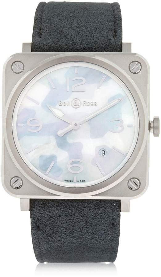 Bell & Ross Brs Camouflage Steel Watch