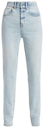 Alexander Wang High-Waist Slim Stacked Jeans