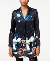 Rachel Roy Printed Ruffle Jacket, Only at Macy's