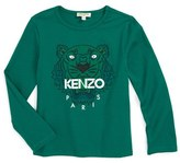 Kenzo Girl's Tiger Graphic Tee